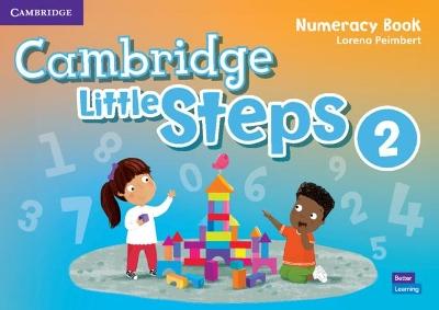 CAMBRIDGE LITTLE STEPS 2 NUMERACY BOOK