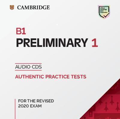 CAMBRIDGE PRELIMINARY ENGLISH TEST 1 CD (2) (FOR REVISED EXAMS FROM 2020)