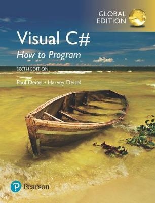 VISUAL C# HOW TO PROGRAM 6TH ED