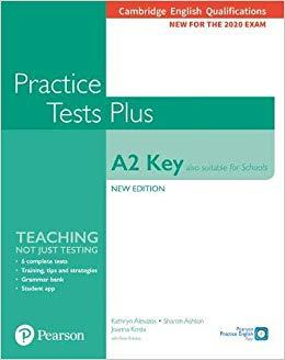 KET PRACTICE TEST PLUS (ALSO SUITABLE FOR SCHOOLS) FOR 2020 EXAMS SB