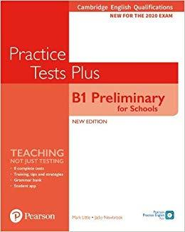 PET FOR SCHOOLS PRACTICE TESTS PLUS FOR 2020 EXAMS SB