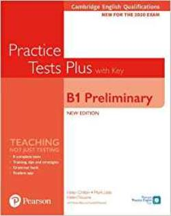 PET PRACTICE TESTS PLUS FOR 2020 EXAMS SB WITH KEY