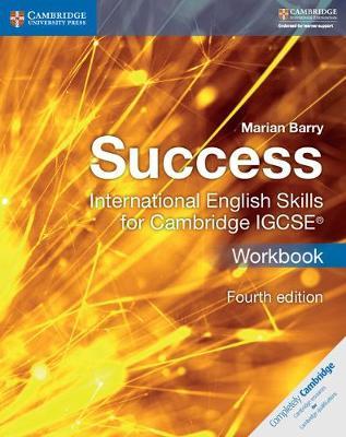 SUCCESS INTERNATIONAL ENGLISH SKILLS FOR CAMBRIDGE IGCSE WB 4TH ED