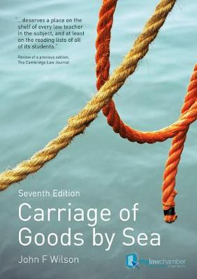 CARRIAGE OF GOODS BY SEA 7TH ED PB