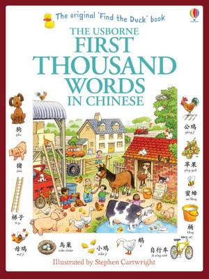 USBORNE : FIRST THOUSAND WORDS IN CHINESE  PB