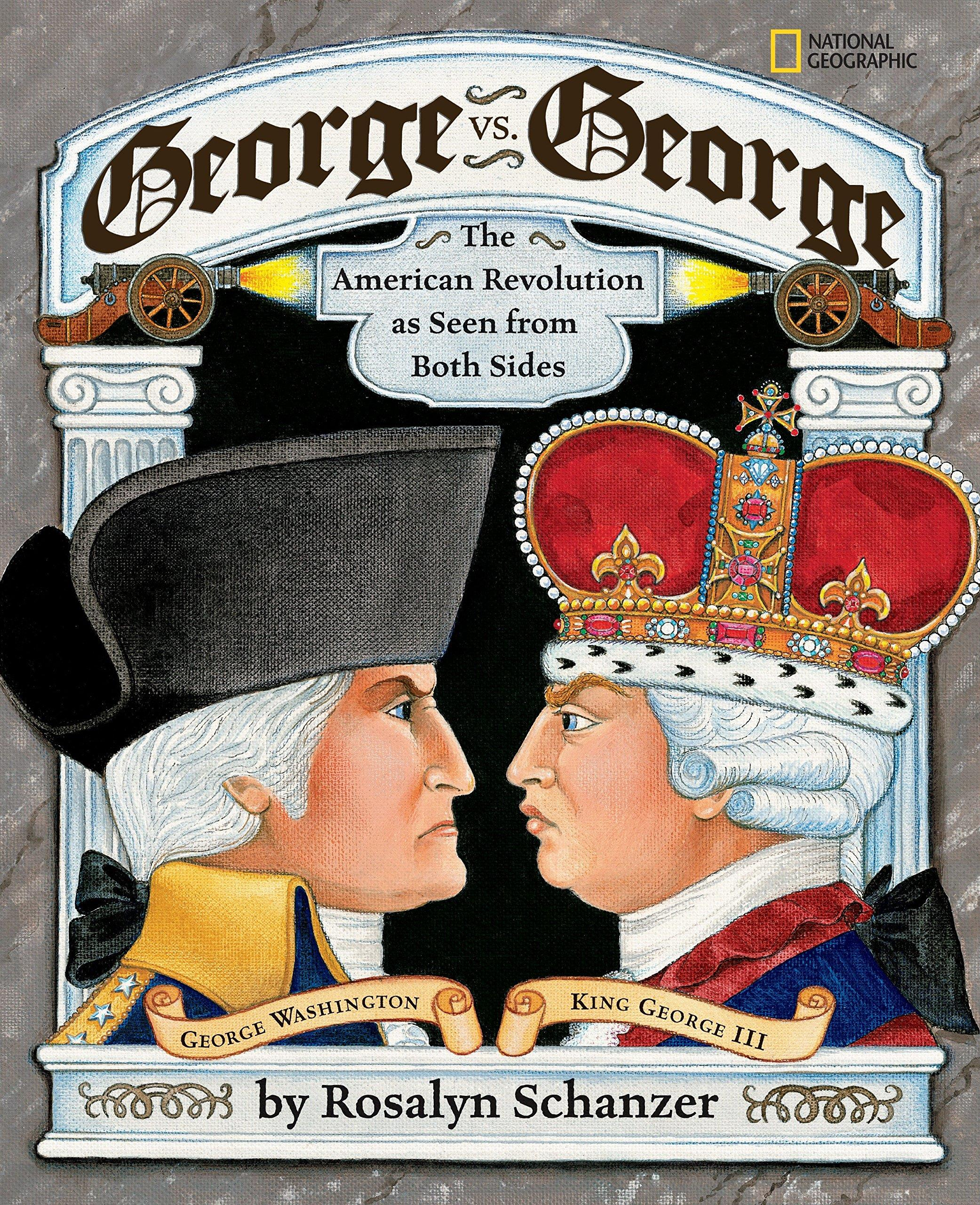GEORGE VS GEORGE : THE AMERICAN REVOLUTION AS SEEN FROM BOTH SIDES PB