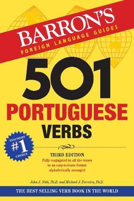BARRONS 501 PORTUGUESE VERBS 3RD ED