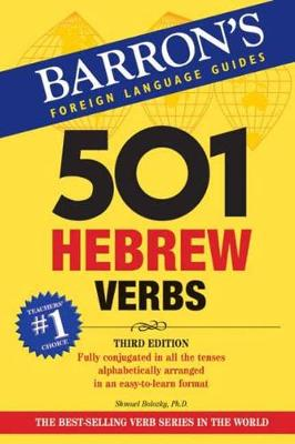 BARRONS 501 HEBREW VERBS