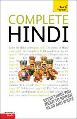 TEACH YOURSELF COMPLETE HINDI PB