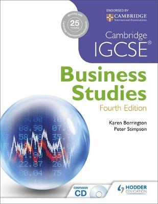 CAMBRIDGE IGCSE AND O LEVEL BUSINESS STUDIES 4TH ED