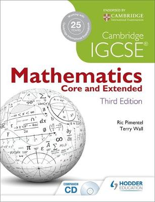 CAMBRIDGE IGCSE MATHEMATICS CORE AND EXTENDED 3RD ED PB