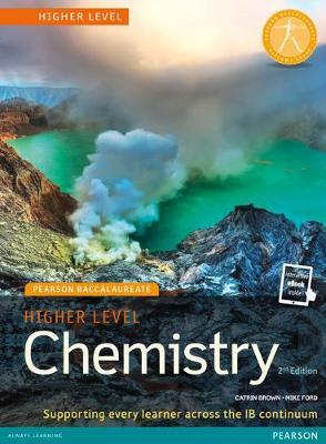 PEARSON BACCALAUREATE : HIGHER LEVEL CHEMISTRY FOR THE IB DIPLOMA 2ND ED PB
