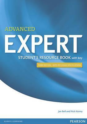 EXPERT ADVANCED RESOURCE BOOK WITH ANSWERS