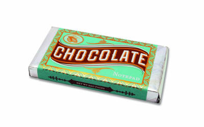 CHOCOLATE BAR : MILK CHOCOLATE NOTEPAD  PB