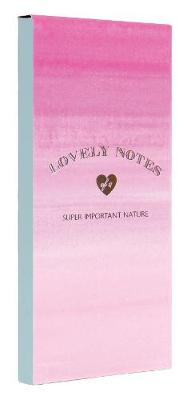 LOVELY NOTES : PINK OMBRE  PB