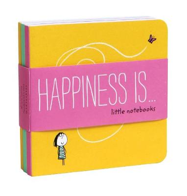 HAPPINESS IS ... LITTLE NOTEBOOKS  PB