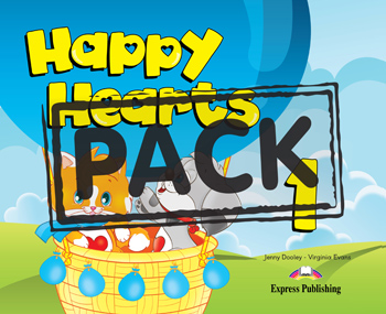 HAPPY HEARTS 1 SB PACK ( CD  PRESS OUTS  STICKERS  EXTRA UNITS)