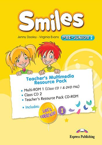 SMILES PRE-JUNIOR TCHRS MULTIMEDIA RESOURCE PACK ( CLASS CDS)