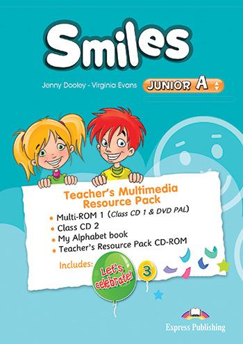 SMILES JUNIOR A TCHRS MULTIMEDIA RESOURCE PACK ( CLASS CDS)