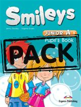SMILES JUNIOR A SB (+ ALPHABET + CD + DVD) +IEBOOK