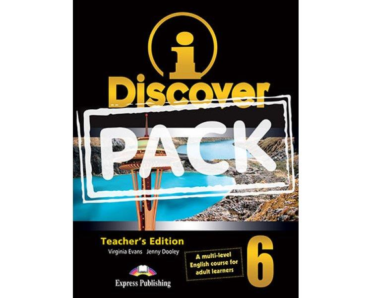 iDISCOVER 6 TCHRS PACK