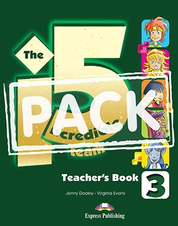 INCREDIBLE 5 TEAM 3 TCHRS PACK WITH POSTERS