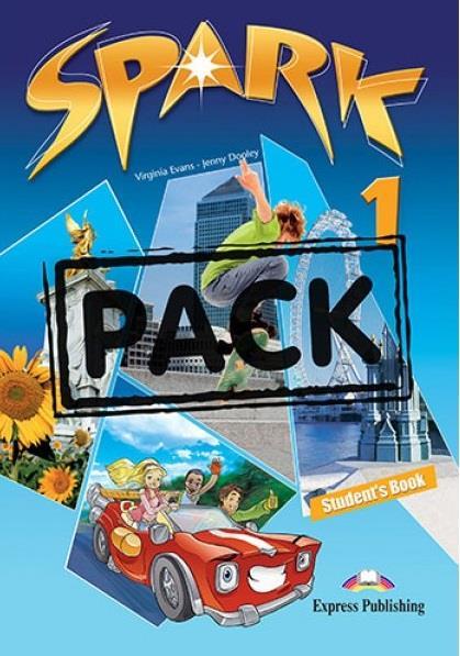SPARK 1 POWER PACK 2 (+ LET S CELEBRATE! + SPARK 1 PRESENTATION SKILLS + IT S GRAMMAR TIME 1 + IEBOOK)