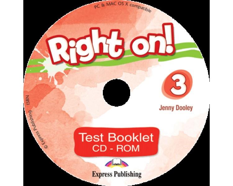 RIGHT ON ! 3 CD-ROM TEST