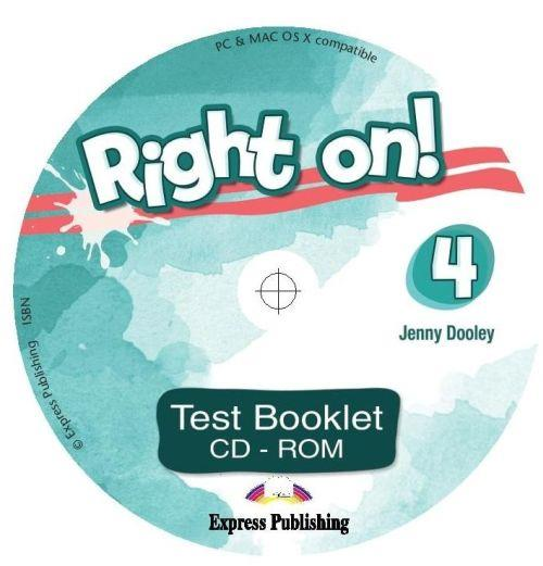 RIGHT ON ! 4 TEST CD-ROM