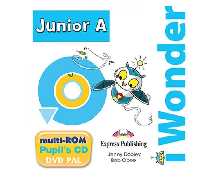 iWONDER JUNIOR A MULTI-ROM PUPILS CD