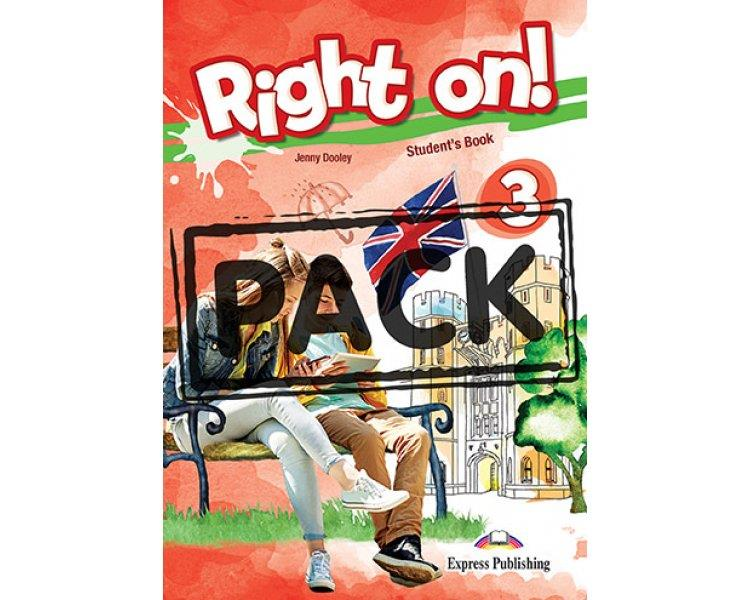 RIGHT ON ! 3 JUMBO PACK WITH GREEK GRAMMAR