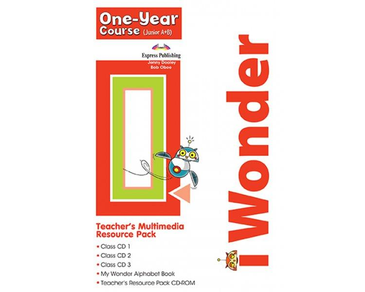 iWONDER JUNIOR A+B (ONE YEAR COURSE) TCHR S MULTIMEDIA RESOURCE PACK