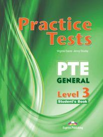 PTE GENERAL 3 B2 PRACTICE TESTS SB (+ DIGIBOOKS APP)
