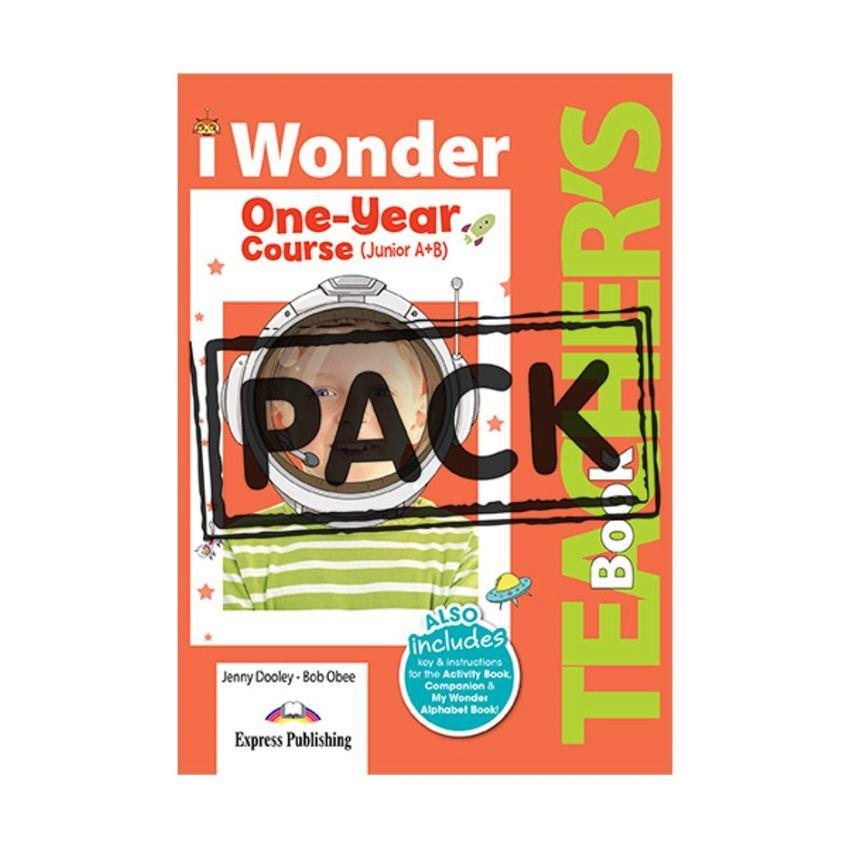 iWONDER JUNIOR A+B (ONE YEAR COURSE) TCHR S (+ POSTERS)