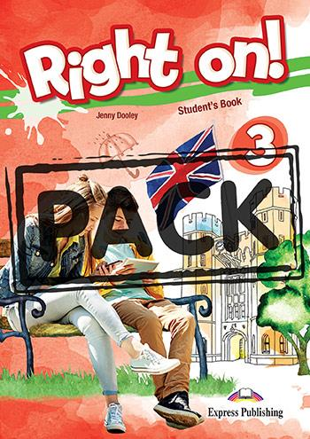 RIGHT ON ! 3 JUMBO PACK WITH ENGLISH GRAMMAR