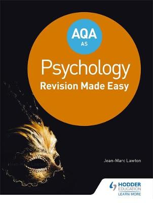AQA AS PSYCHOLOGY: REVISION MADE EASY  PB