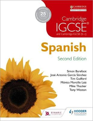 CAMBRIDGE IGCSE SPANISH BOOK PB