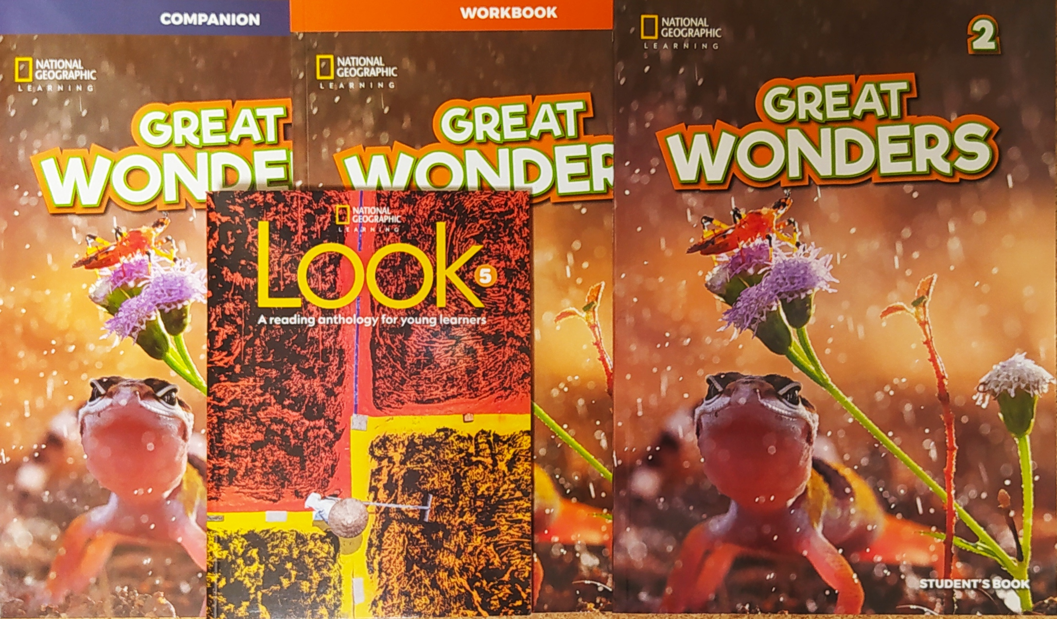 GREAT WONDERS 2 BUNDLE (SB  WB  COMPANION  LOOK 5 ANTHOLOGY)