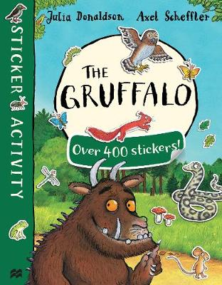 THE GRUFFALO STICKER BOOK  PB