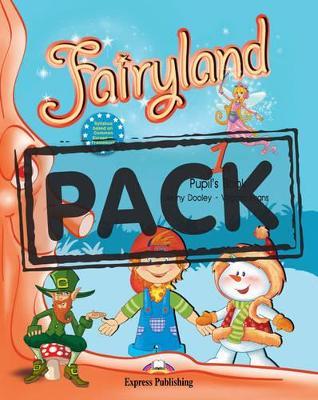 FAIRYLAND 1 SB PACK (+ CD + DVD) (+ IEBOOK)