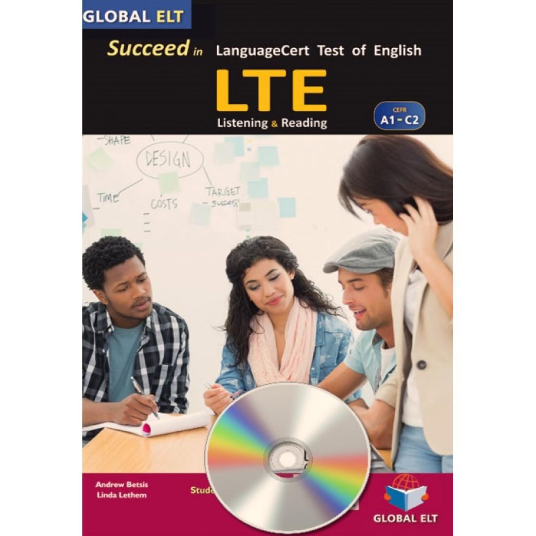 SUCCEED IN LANGUAGECERT LTE A1-C2 SELF STUDY PACK