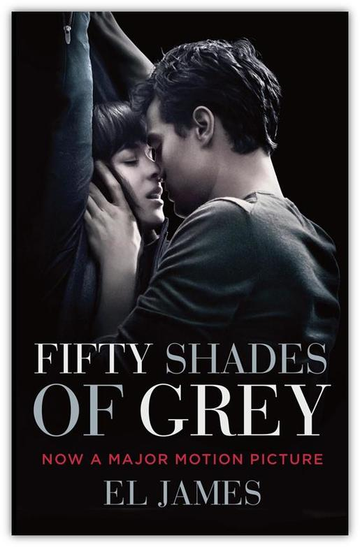 FIFTY SHADES TRILOGY FILM TIE-IN PB B FORMAT