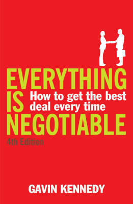 EVERYTHING IS NEGOTIABLE  PB