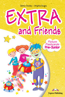 EXTRA & FRIENDS PRE-JUNIOR FLASHCARDS