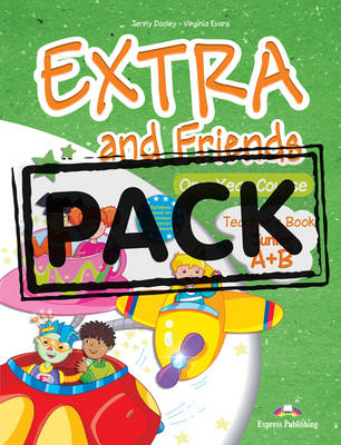 EXTRA & FRIENDS JUNIOR A & B TCHR S PACK (+ POSTERS)
