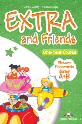 EXTRA & FRIENDS JUNIOR A & B FLASHCARDS