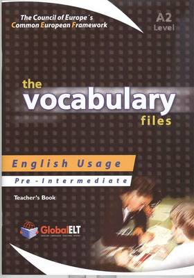 VOCABULARY FILES A2 TCHR S