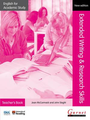 English for Academic Study: Extended Writing & Research Skills Teacher s Book - Edition 2 Paperback (+ CD)