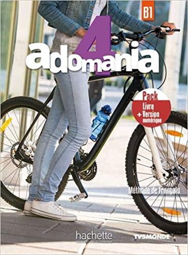 ADOMANIA 4 B1 METHODE PACK LIVRE  VERSION NUMERIQUE