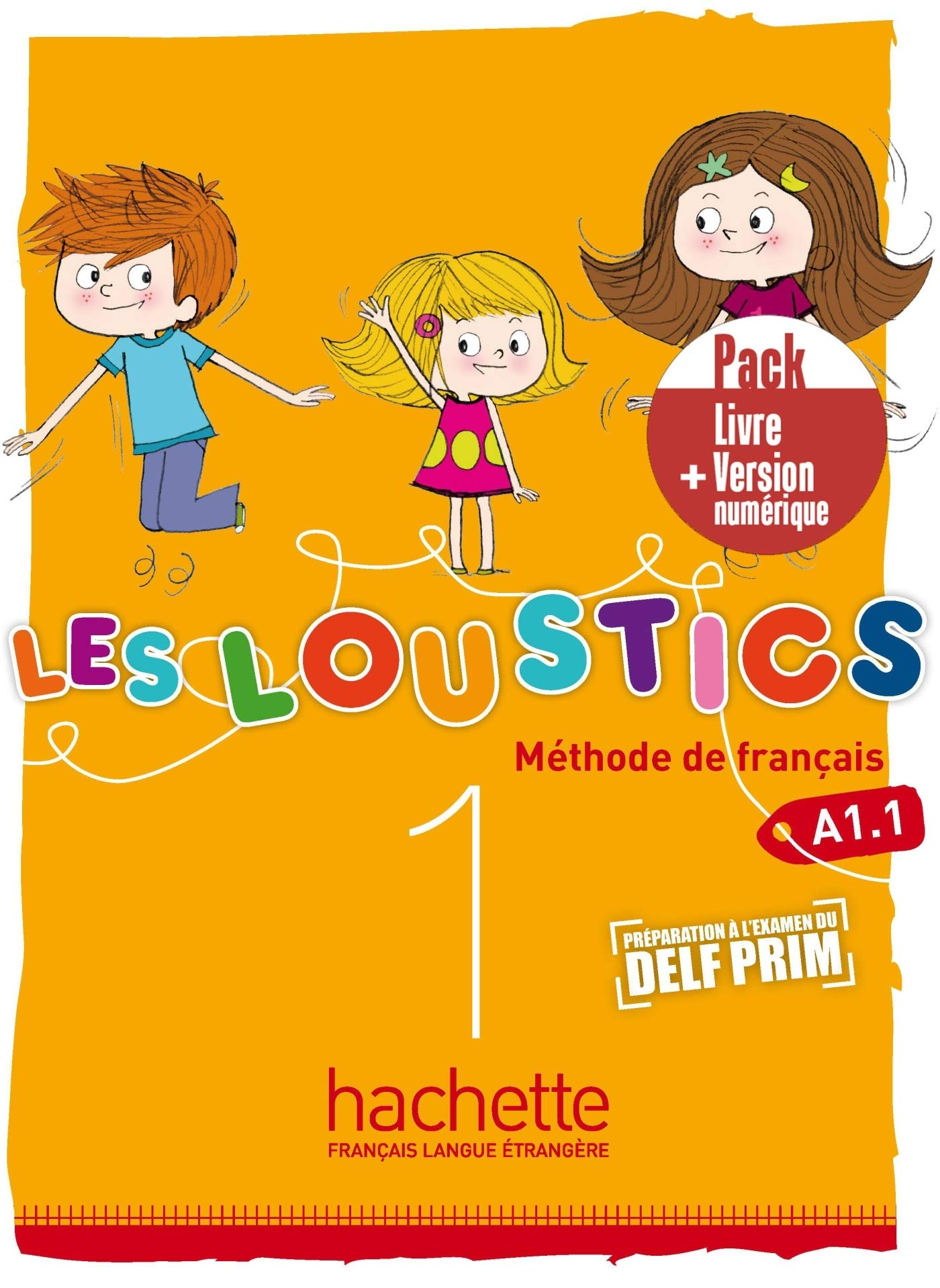 LES LOUSTICS 1 A1.1 PACK LIVRE  VERSION NUMERIQUE